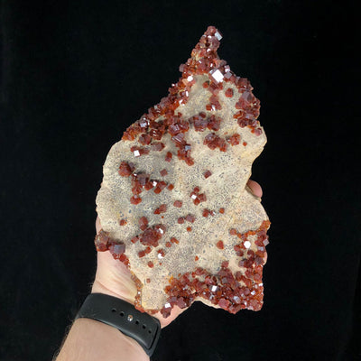Large Vanadinite Specimen from Morocco