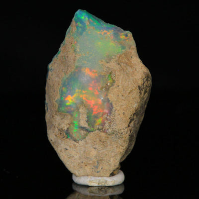 Welo Ethiopian Opal Specimen with Intense Color