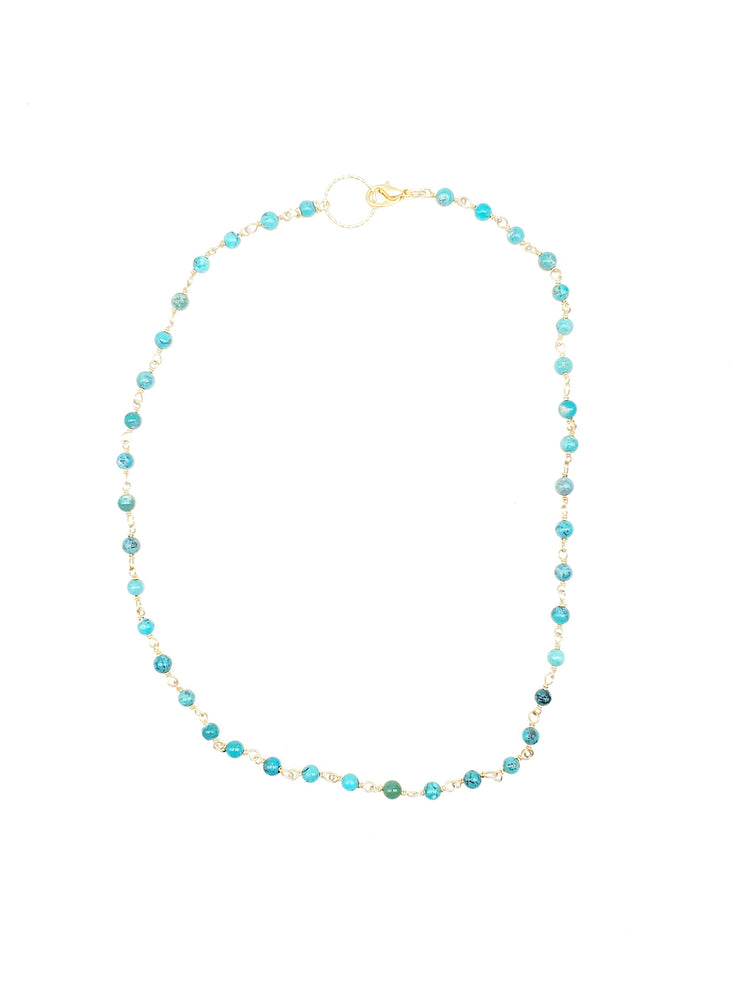 GP Turquoise Short Dainty Necklace