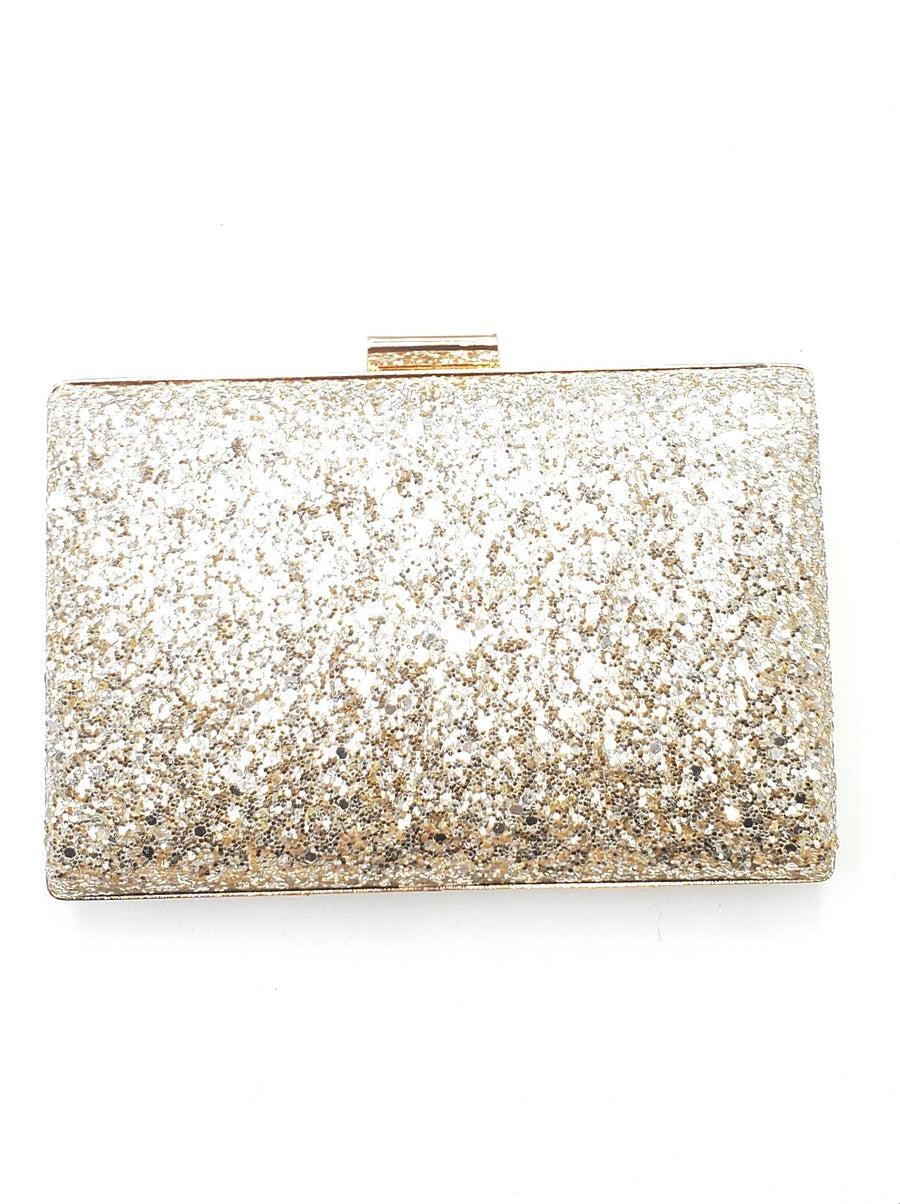 Gold& Silver Sequin Clutch
