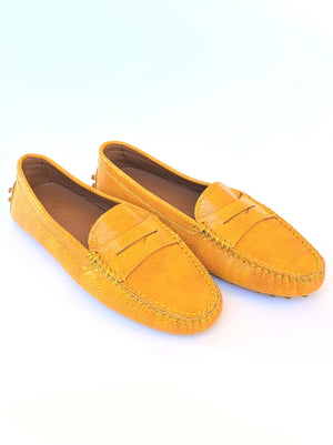 Mandarin Leather Loafers