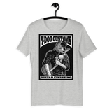 T Dog Greaser T-shirt (Black and White Artwork)