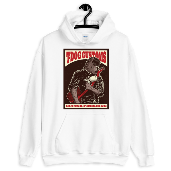 T Dog Greaser Hoodie (Colour Artwork)