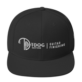 T Dog Guitar Finishing Snapback (White Logo)