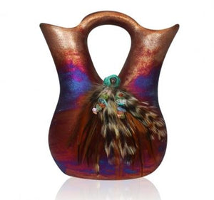 Raku Large Wedding Vase