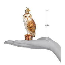Load image into Gallery viewer, Barn Owl Ornament