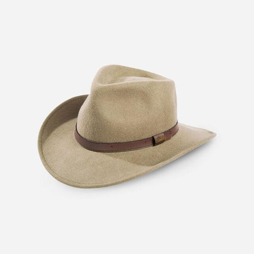 Pendleton woolen mills outback hat crushable putty beige wool felt travel unisex