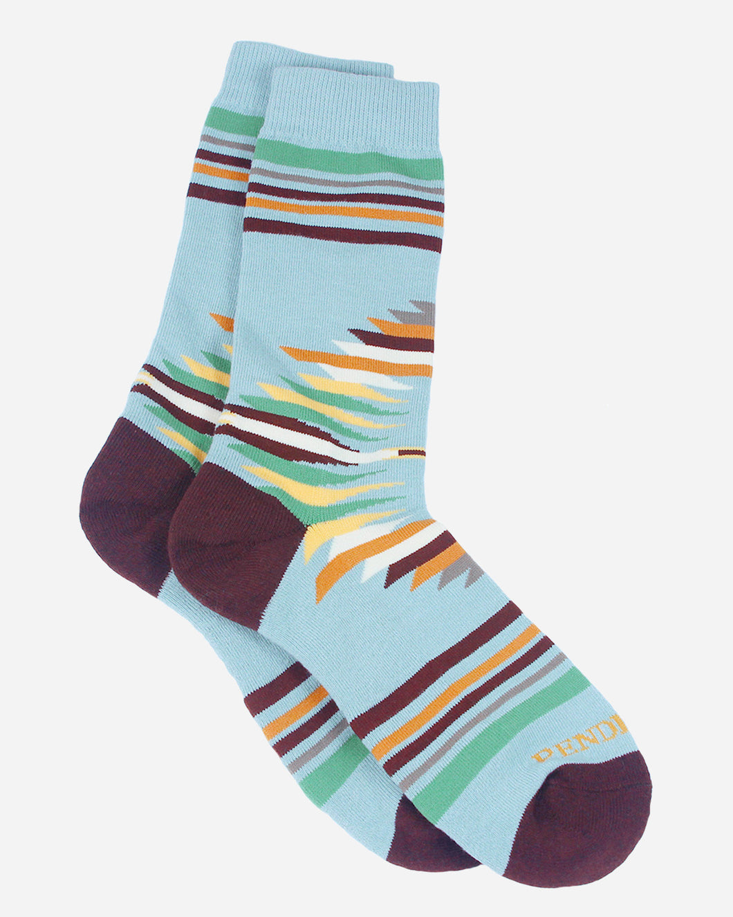 Pendleton Turquoise Falcon Cove Socks