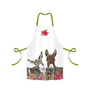 peanut butter and jelly donkey buddies apron clean from food kitchen goods flowers