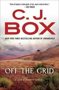 C.J. Box novel Off the Grid red desert wyoming thriller mystery suspense book fiction Joe Pickett nate
