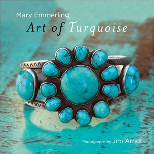 Art of Turquoise book Mary Emmerling Jim arnidt southwestern gemstone silver artists collector American jewelry