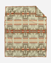 Load image into Gallery viewer, thyme harding jacquard robe blanket president chief joseph florence gift christmas holiday home decor pendleton woolen mills american made