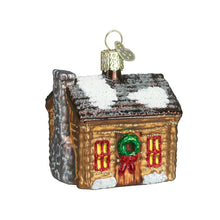 Load image into Gallery viewer, Log Cabin Ornament