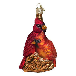 Pair of Cardinals Ornament
