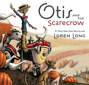 Otis and the scarecrow by Loren Long tractor farm animals friendship children's book