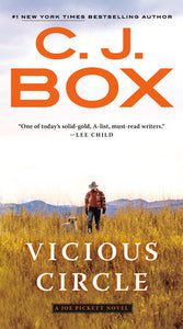 C.J. Box Vicious Circle novel fiction Joe Pickett series western mystery thriller book