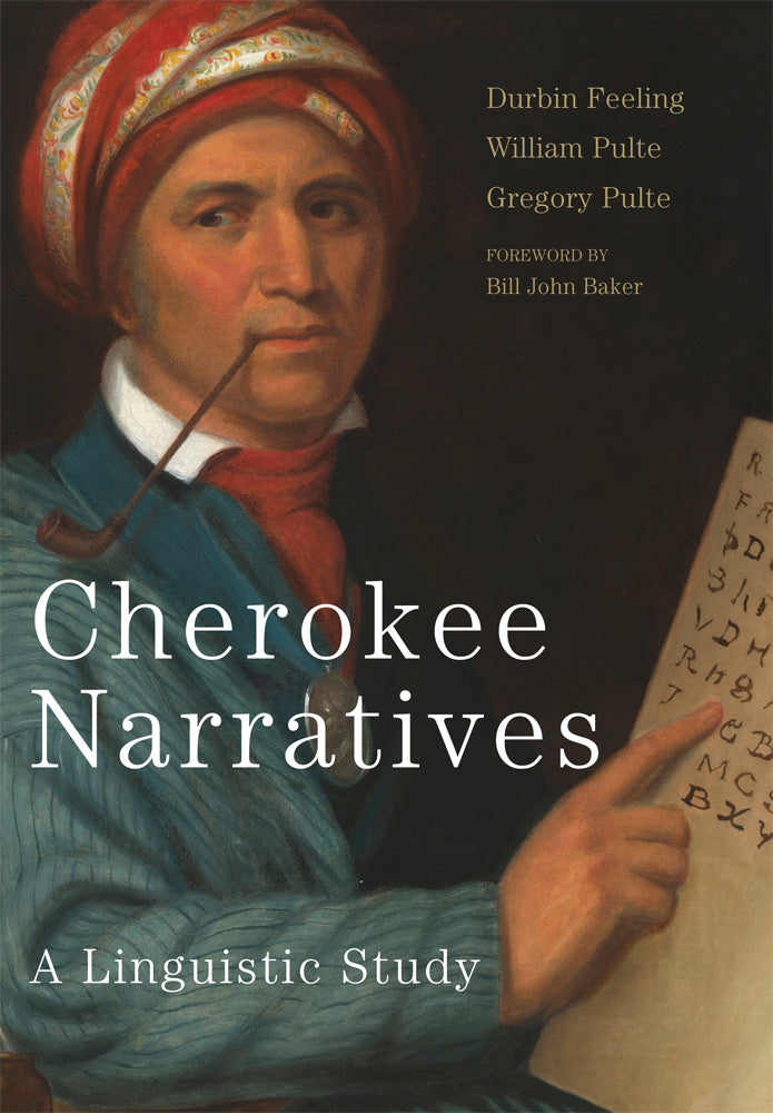 Cherokee Narratives language linguistic study myths stories history learning preserve the language book