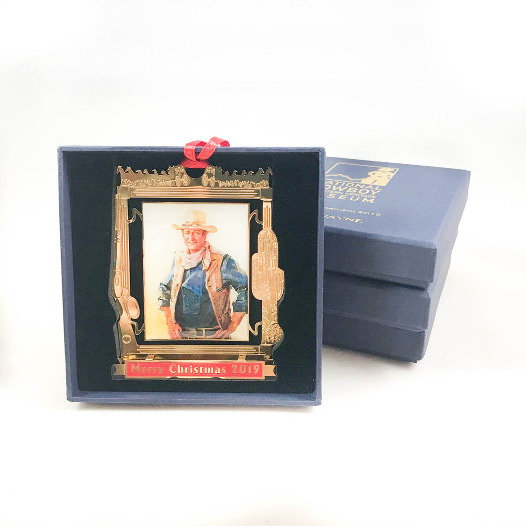John Wayne Christmas Ornament 2019