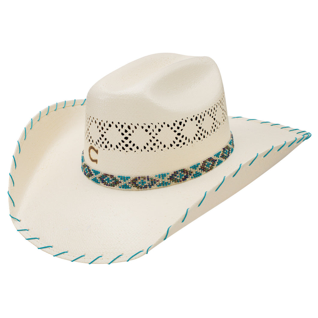 Charlie 1 Horse hats children youth rodeo ready Apache Jr. hat straw natural kids gift