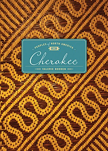 Cherokee the peoples of North america book history culture native american tribe