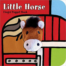 Load image into Gallery viewer, little horse finger puppet book children babies toddlers interactive story