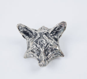 2010 Prix de West collector's bolo red fox by richard loffler silver