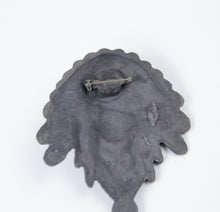 Load image into Gallery viewer, 2013 prix de west collector's bolo tie blair buswell sculptor chief indian headress bronze pin