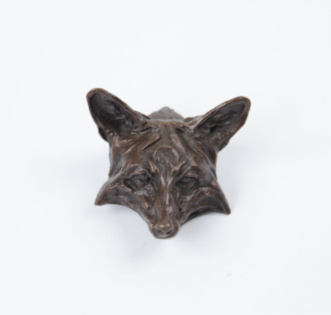 2010 Prix de West collector's bolo red fox by richard loffler bronze