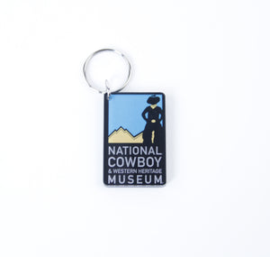 national cowboy and western heritage museum keychain keep your keys