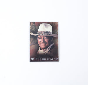 john wayne american legend fridge magnet refridgerator cowboy american flag collection souvenir keepsake the duke