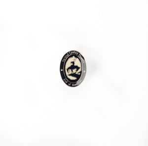 end of the trail enamel pin lapel collection gold denim jacket pins accessory national cowboy and western heritage museum