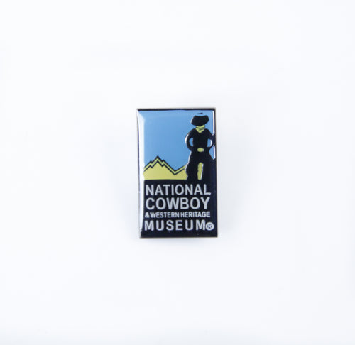 National Cowboy Museum Logo Pin