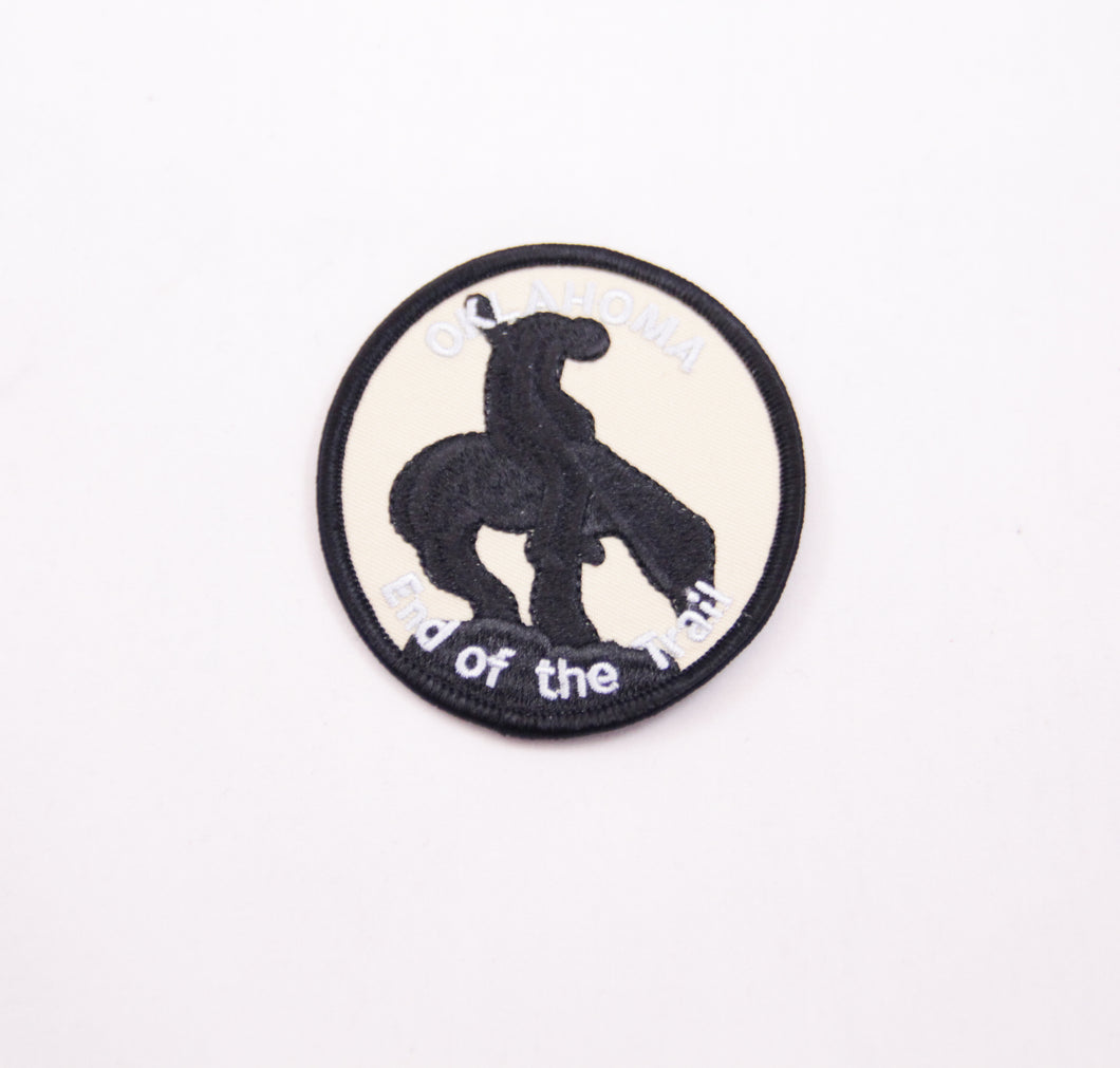 End of the Trail Patch