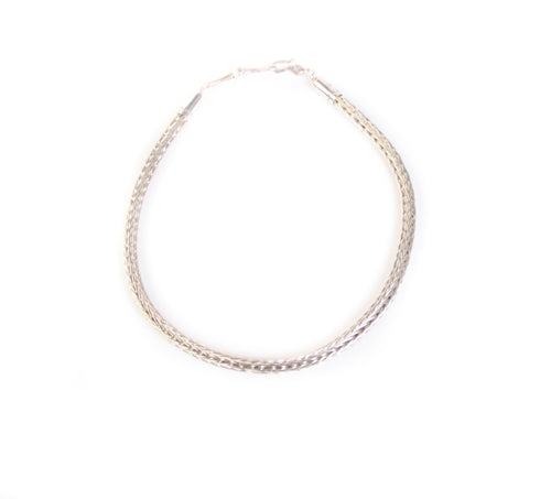 Sterling Silver Chain Necklace, 18 inches