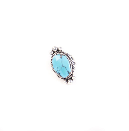 Red Earth Turquoise Ring