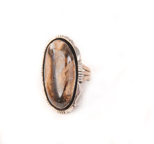 Load image into Gallery viewer, Boulder Opal Ring