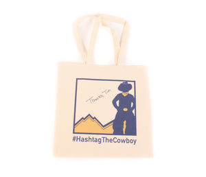 Hashtag Tote Bag - Signed