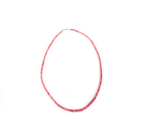 Red Spiny Oyster Necklace