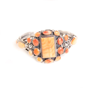 Spiny Oyster Cuff, Orange
