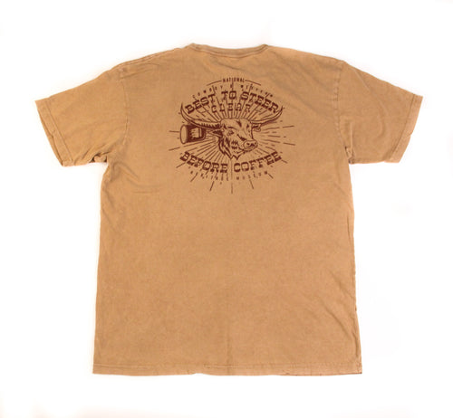 Steer Clear T-Shirt, Camel