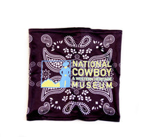 Load image into Gallery viewer, National Cowboy Museum Logo Neck Gaiter