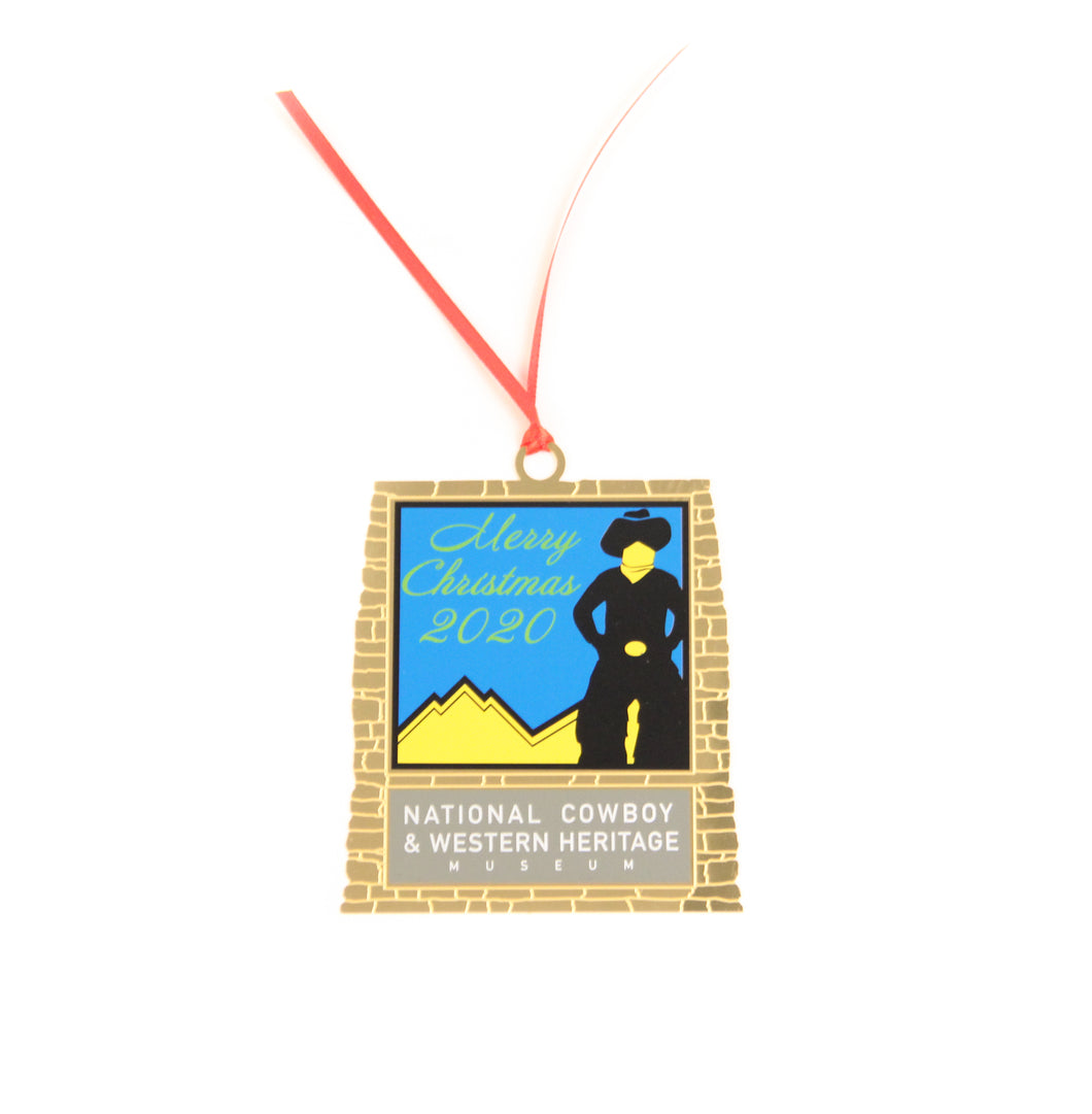 Museum Store Christmas Ornament 2020, Jackson Sundown