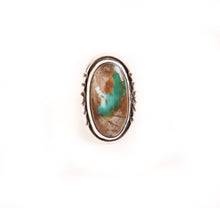 Load image into Gallery viewer, Oval Royston Turquoise Ring