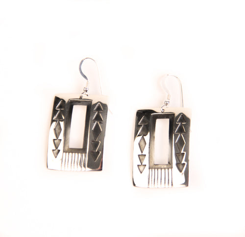 Silver Overlay Earrings, Assorted Styles
