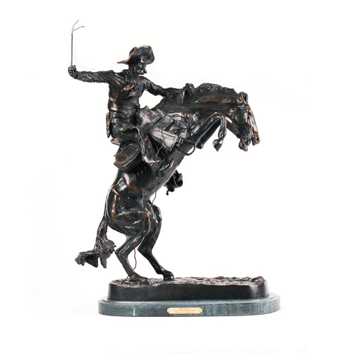 Bronco Buster Frederic Remington first cast sculpture 1895 rider western art statue gift