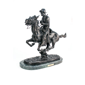 Trooper of the Plains, Large Bronze