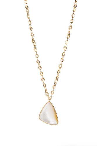 Long Drop Necklace with Pearl