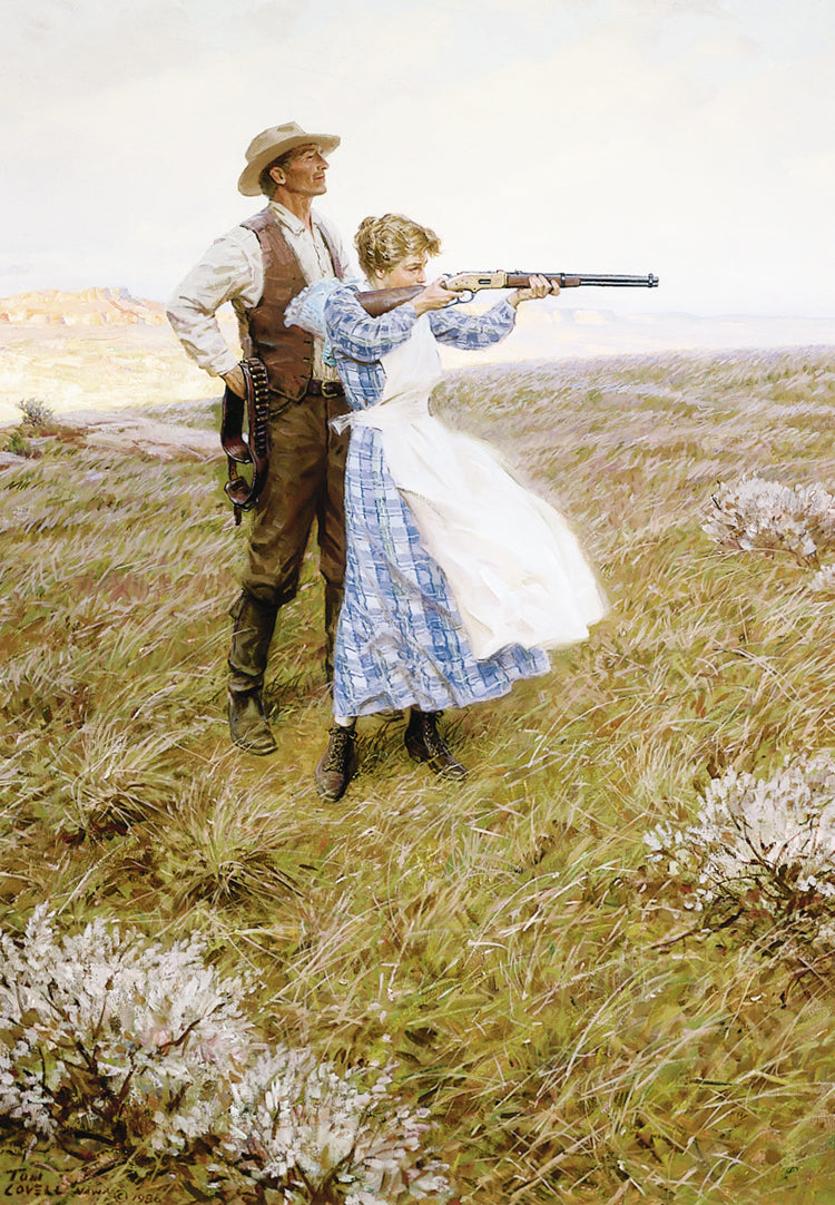 Target Practice By Tom Lovell The National Cowboy Museum Store