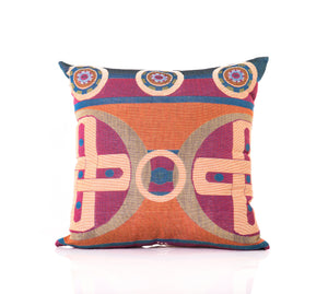 sun symbols pillow mahota textiles chickasaw nation company woven home good