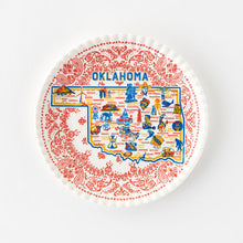 Load image into Gallery viewer, Oklahoma Melamine Plate
